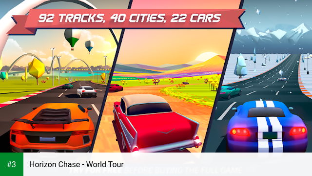 Horizon Chase - World Tour app screenshot 3