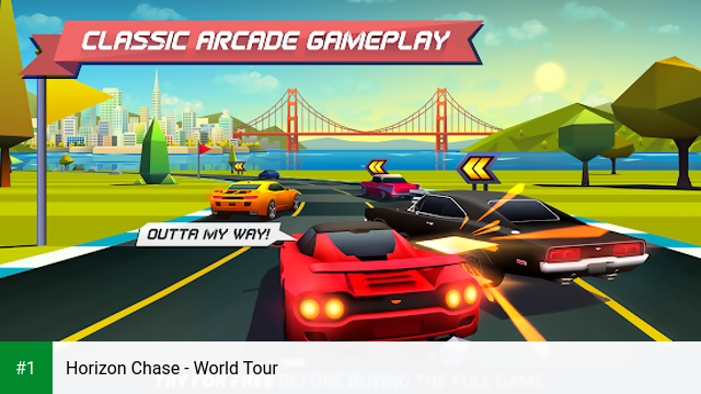 Horizon Chase - World Tour app screenshot 1