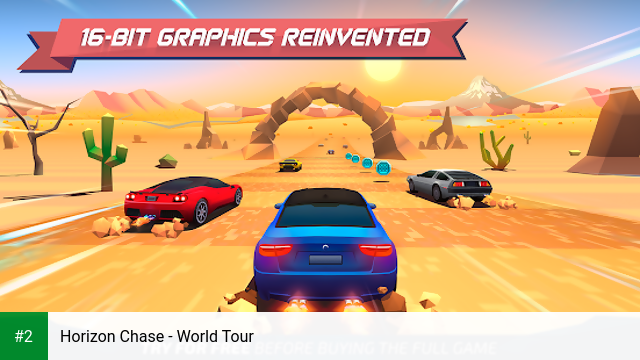 Horizon Chase - World Tour apk screenshot 2