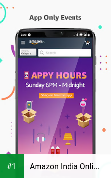 Amazon India Online Shopping and Payments app screenshot 1
