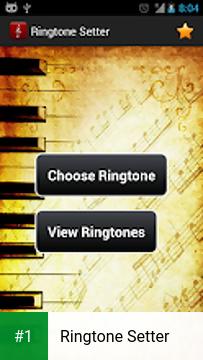 Ringtone Setter app screenshot 1