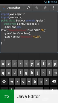 Java Editor app screenshot 3