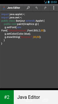 Java Editor apk screenshot 2
