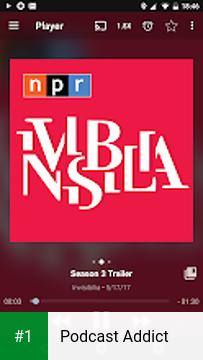 Podcast Addict app screenshot 1