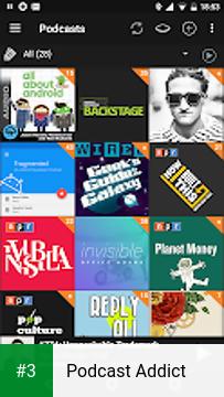 Podcast Addict app screenshot 3