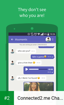 Connected2 me Chat Anonymously APK latest version - free