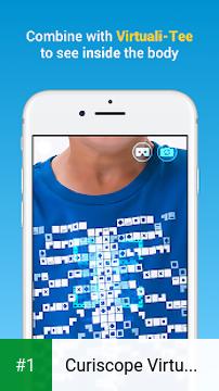 Curiscope Virtuali-Tee app screenshot 1