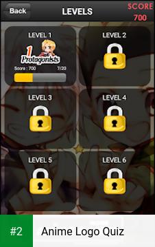 Anime Logo Quiz apk screenshot 2