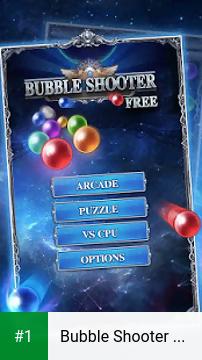 Bubble Shooter Game Free app screenshot 1