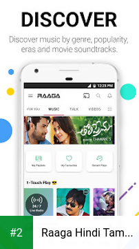 Raaga Hindi Tamil Telugu apk screenshot 2