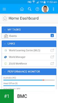 BMC app screenshot 1
