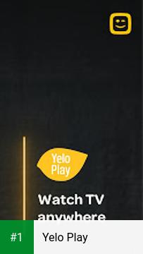 Yelo Play app screenshot 1
