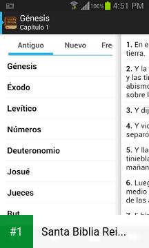 Santa Biblia Reina Valera app screenshot 1