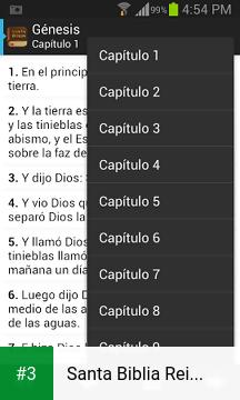 Santa Biblia Reina Valera app screenshot 3
