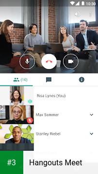 Hangouts Meet app screenshot 3