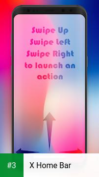 X Home Bar app screenshot 3