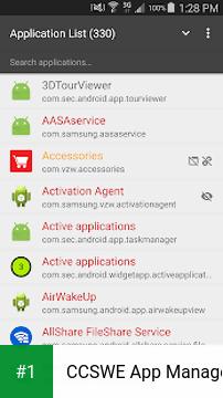 CCSWE App Manager app screenshot 1
