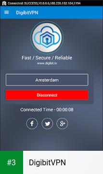 DigibitVPN app screenshot 3