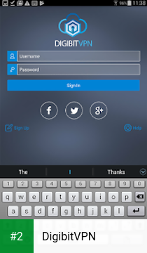 DigibitVPN apk screenshot 2