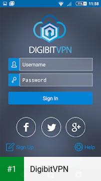DigibitVPN app screenshot 1