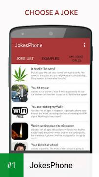 JokesPhone app screenshot 1