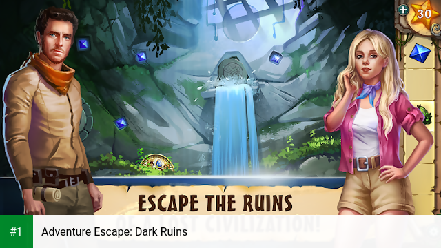 Adventure Escape: Dark Ruins app screenshot 1