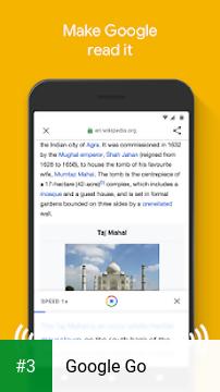 Google Go app screenshot 3
