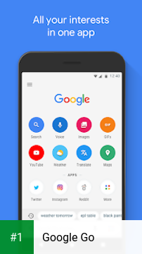 Google Go app screenshot 1