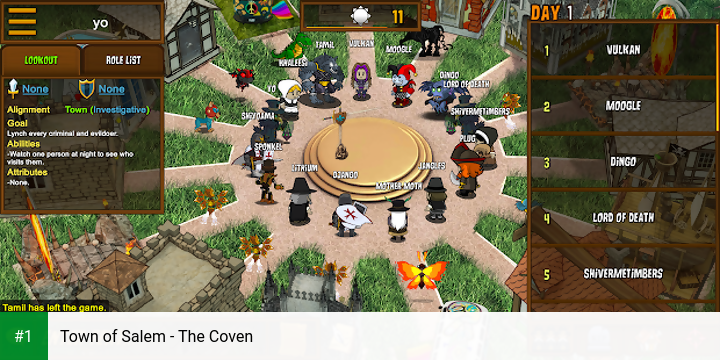 Town of Salem - The Coven app screenshot 1