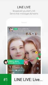 LINE LIVE: Live Video&Sticker app screenshot 1