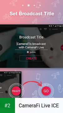 CameraFi Live ICE apk screenshot 2