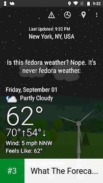 What The Forecast?!! app screenshot 3