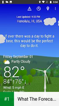 What The Forecast?!! app screenshot 1