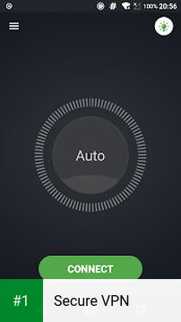Secure VPN app screenshot 1