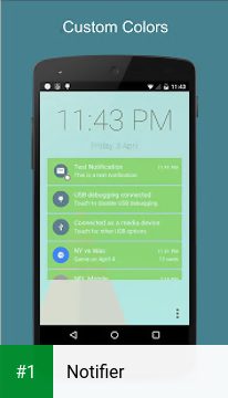 Notifier app screenshot 1