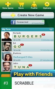 SCRABBLE app screenshot 3