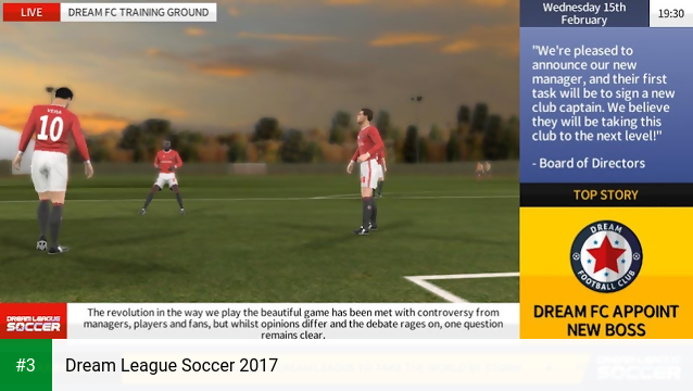Dream League Soccer 2017 app screenshot 3