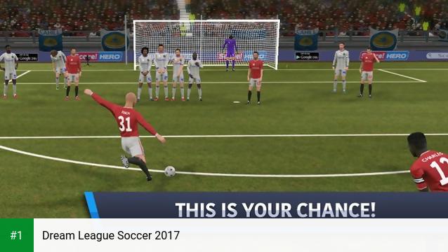 Dream League Soccer 2017 app screenshot 1