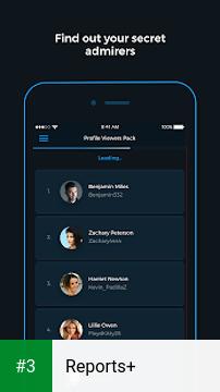 Reports+ app screenshot 3
