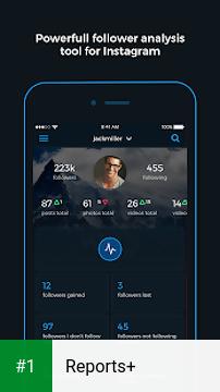 Reports+ app screenshot 1