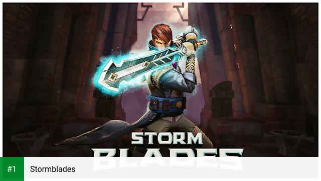Stormblades app screenshot 1