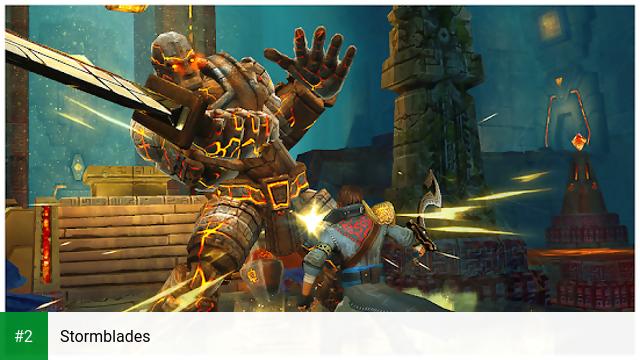 Stormblades apk screenshot 2