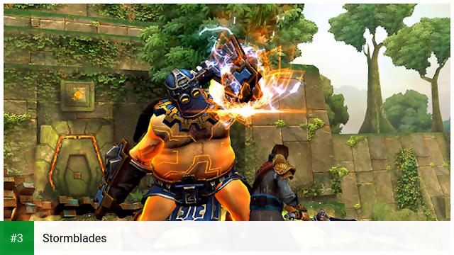 Stormblades app screenshot 3