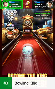 Bowling King app screenshot 3
