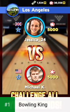 Bowling King app screenshot 1