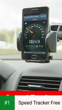 Speed Tracker Free app screenshot 1