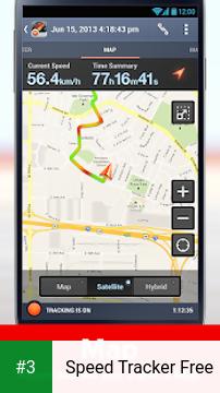Speed Tracker Free app screenshot 3