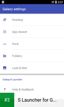 S Launcher for Galaxy TouchWiz app screenshot 3