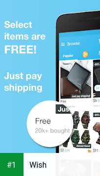 Wish app screenshot 1