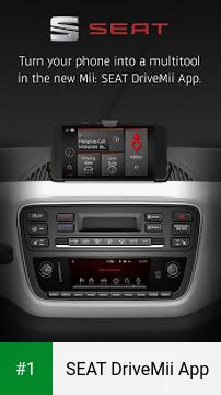 SEAT DriveMii App app screenshot 1